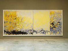 Joan Mitchell, Minnesota, 1980, Oil on Canvas (four Panels)