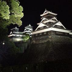 熊本城 (Kumamoto Castle) : 熊本市, 熊本県