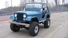 1977 Jeep CJ-5 258 CI presented as lot G77 at Indianapolis, IN