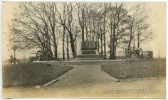 1908 Photo Pennsylvania PA Gettysburg High Water Mark of the Rebellion Monument
