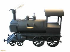 BBQ machine train Barbecue Grill, Grilling, Backyard Smokers, Bbq Smoker Trailer, Bbq Equipment, Custom Bbq Pits, Smokehouse Bbq, Charcoal Smoker, Offset Smoker