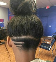 Nape Shaved Design Women for 2018 Best ideas for Nape haircut Nape Undercut design haircu Haircut Ideas Nape Shaved Women Shaved Undercut, Undercut Long Hair, Undercut Hairstyles Women, Undercut Haircut Women, Undercut Girl, Undercut Ponytail, Edgy Long Hair, Shaved Nape, Layered Hairstyles