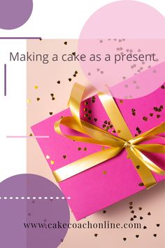 When being asked to make a cake as a present - could put you in an embarrassing situation. Do you tell your friend a price? Were they expecting it for free? What is best to do? Read our blog to find out more...