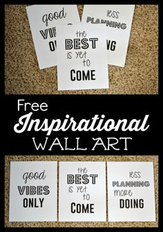 Hey guys! I have a GREAT freebie I've made to share with you all today. This free printable wall art is meant to inspire & motivate you, no matter what your goals are this year. I'll be hanging these in my office, but you can hang it anywhere you think you might see it each …