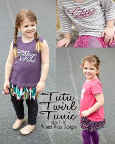 Tutu Twirl Tunic for girls size 1-16