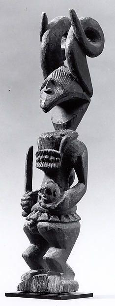African Art: Shrine Figure (Ikenga) gallery 352