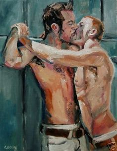 reviews_and_ramblings | Steven Clayton Corry: Gay Impressionist Painter
