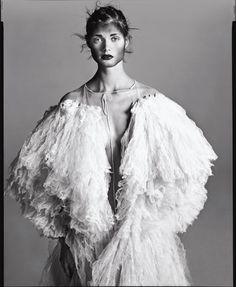 7 RA Malgosia Bela, dress by Jean Paul Gaultier, New York, March 2000