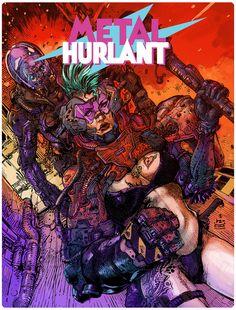 Metal Hurlant - An original fanwork dedication by Tonikoro