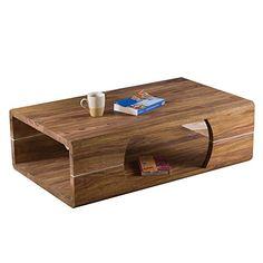 Lounge Zone Stylischer Couchtisch Sofatisch Wohnzimmertisch Wohnzimmer Beistelltisch Tisch VERO LEGNO Sheesham Holz Sheeshamholz Massiv