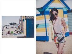 beach pastel