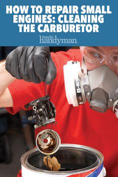 Fix Lawn Mower 252834966567583316 - How to Repair Small Engines: Cleaning the Carburetor Source by family_handyman Lawn Mower Maintenance, Home Maintenance Schedule, Lawn Mower Repair, Chainsaw Repair, Diy Go Kart, Lawn Equipment, Engine Repair, Diy Home Repair, Small Engine