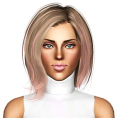 Newsea`s Perry hairstyle retextured by July Kapo for Sims 3 - Sims Hairs - http://simshairs.com/newseas-perry-hairstyle-retextured-by-july-kapo/