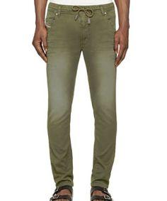 Green Faded Krooley-Ne Jogg Jeans