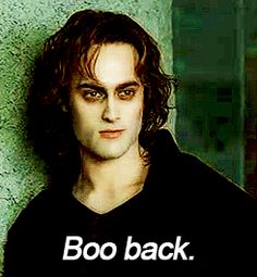 Lestat's sexiest line. ----- Not Lestat but I did love this before I read the book