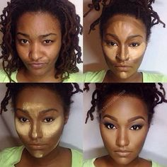 Contouring for dark skin   Have you tried it?