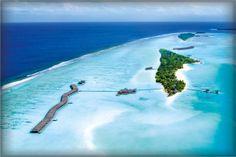 Hotelito en las Maldivas...