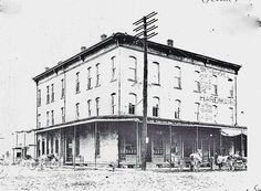 Kribbs Building, 5th & Main ST, Clarion, PA ca. 1885  EFTforChristians.com