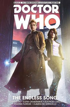 GRAPHIC NOVEL: Doctor Who - The Tenth Doctor Vol. 4 - Paperback Edition Out In The US Next Week       The fourth collection of Titan Comics' Tenth Doctor comics, The Endless Song, is due to be released in paperback edition into US comic s...