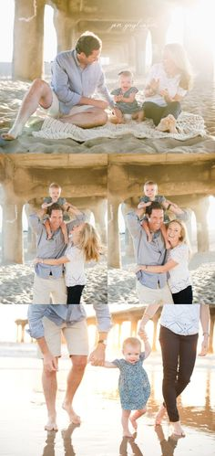 outfit perfection for family photos. simple neutral tones with plenty ...