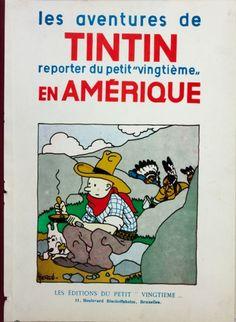 Les aventures de Tintin en Amérique - Hergé
