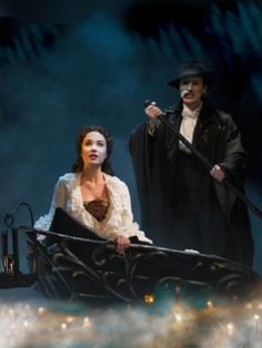 Sierra Boggess as Christine and Hugh Panaro as the Phantom in The Phantom of the Opera Musical Theatre Broadway, Musicals Broadway, Nashville Broadway, Fantom Of The Opera, Sheet Music Art, Theatre Problems, Theatre Quotes, Ramin Karimloo, Sierra Boggess