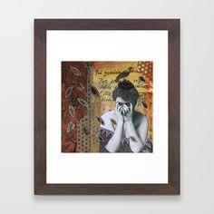 Autumn Framed Art Print by Grace Bello.
