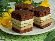Zákusok Čokotrikolóra Food Cakes, Graham Crackers, No Cook Meals, Tiramisu, Cake Recipes, Recipies, Food And Drink, Sweets, Cookies