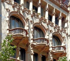 https://flic.kr/p/ehXEpa   Barcelona - Mallorca 291 f 1   Casa Thomas 1912 Architects: Lluís Domènech i Montaner & Francesc Guàrdia i Vial