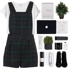 A fashion look from January 2016 featuring Monki t-shirts, Cole Haan ankle booties and Dogeared necklaces. Browse and shop related looks.