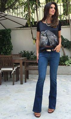 Moda it - Look: T-shirt + Flare | Moda it