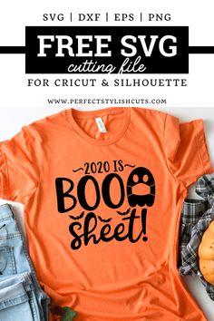 Cricut Vinyl, Svg Files For Cricut, Diy Halloween Shirts, Halloween Costumes, Halloween Decorations, Looks Halloween, Halloween 2020, Halloween Halloween, Vinyl Shirts