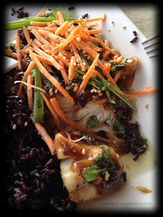 Ginger Soy Steamed Butterfish