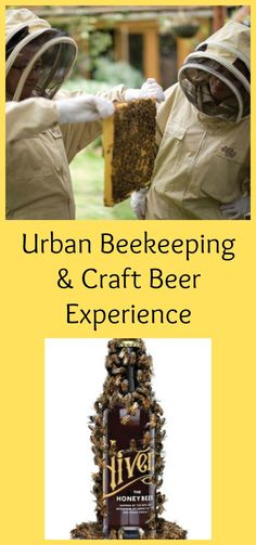 What better way to enjoy a couple of hours together, than urban beekeeping and craft beer tasting? Urban Beekeeping And Craft Beer Experience For Two 2018 by Hivers Beers. Found on Notonthhighstreet.com #ad #beekeeping #craftbeer #experience #experiencedays