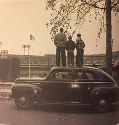 Old Memorial Stadium, Baltimore, 1950s. Photo credit not known.