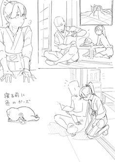メディアツイート: らくらの(@nr_kura)さん   Twitter Character Design, Art Reference Poses, Drawings, Drawing Tutorial, Manga Drawing, Art Prompts, Comic Layout, Manga Drawing Tutorials, Animation Design