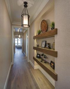 Marvelous Home Corridor Design Ideas That Looks Modern Home Interior Design, House Design, Home And Living, House Interior, Home Living Room, Home Remodeling, Interior, Hallway Designs, Home Decor