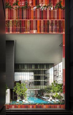 Oasia Hotel Downtown- Singapore- WOHA