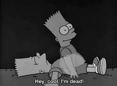 Discover & share this Bart GIF with everyone you know. GIPHY is how you search, share, discover, and create GIFs. Cartoon Memes, Cartoon Characters, Funny Memes, Cartoons, Bts Memes, Funny Quotes, Simpson Wallpaper Iphone, Sad Wallpaper, Wallpaper Ideas
