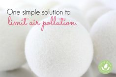 3 Steps to Avoid Dryer Sheet Air Pollution - http://www.mommygreenest.com/3-steps-to-avoid-dryer-sheet-air-pollution/