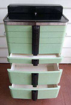 Vintage Hamilton Dental or Medical Cabinet