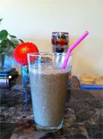nutiva.com - Green Tea Protein Smoothie packed with hemp protein! #green #tea #protein #smoothie