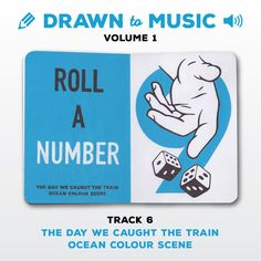 Drawn to Music - Volume 1 : Track 6 - The Day We Caught The Train by Ocean Colour Scene #sketchbookproject2017 #drawntomusic #volume1 #S164511 #halfandhalf #blackwhiteandblue #thedaywecaughtthetrain #oceancolourscene