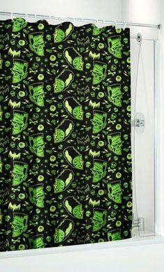 Monsters Shower Curtain