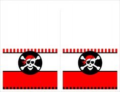 Pirate Themed Birthday Party with FREE Printables... food labels