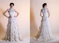 I don't see enough halterneck wedding dress.
