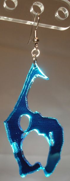 Resident Evil 6 Inspired Acrylic Earrings by FabricationUnlimited, $8.00