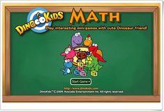 """Dinokids Math"" (Juego de suma de Primaria) Cute Dinosaur, Math, Maths Area, Teaching Resources, Games, Math Resources, Mathematics"