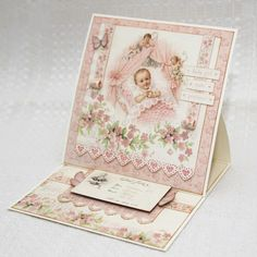 Sweet Baby Girl card by Jenny