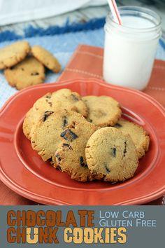 Keto Chocolate Chunk Cookies | Ruled Me